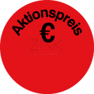 Aktionsetiketten - Aktionspreis €