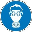 Gebotszeichen - Atemschutz benutzen