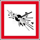 GHS-Etiketten - Explosive Stoffe