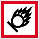 GHS-Etiketten - Entzündend oxidierend wirkende Stoffe