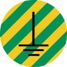 Leiterkennzeichen - Erde - Symbol