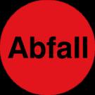 Organisationsetiketten - Abfall