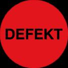 Organisationsetiketten - Defekt