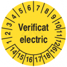 Prüfplaketten - Verificat electric