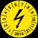 Prüfplaketten - Blitzzeichen (1)