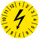 Prüfplaketten - Blitzzeichen (3)