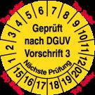Prüfplaketten - Geprüft nach DGUV Vorschrift 3 Nächste Prüfung – Top Seller