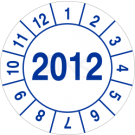 Prüfplaketten - Jahreszahl