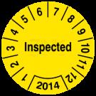 Prüfplaketten - Inspected