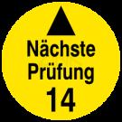 Prüfplaketten - Systemplakette