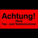Versandetiketten - Achtung neue Fax und Telefonnummer