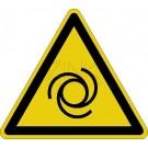 Warnzeichen - Warnung vor automatischem Anlauf