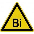 Warnzeichen - Warnung vor Bismuth