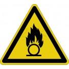 Warnzeichen - Warnung vor brandfördernden Stoffen