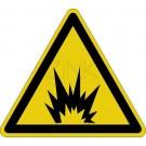 Warnzeichen - Warnung vor Explosionsgefahr