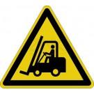 Warnzeichen - Warnung vor Flurförderzeugen