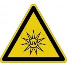 Warnzeichen - Warnung vor UV-Strahlung