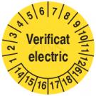 Prüfplaketten - Verificat electric