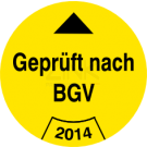 Prüfplaketten - Geprüft nach BGV (1)