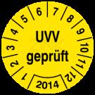 Prüfplaketten - UVV geprüft (1)