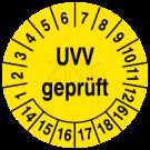 Prüfplaketten - UVV geprüft (2)