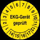 Prüfplaketten - EKG-Gerät geprüft