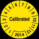 Prüfplaketten - Calibrated