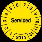 Prüfplaketten - Serviced