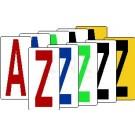 Einzelbuchstaben von A bis Z