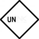 UN blanko Etiketten zur Selbstbeschriftung