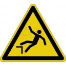 Warnzeichen - Warnung vor Absturzgefahr