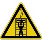 Warnzeichen - Warnung vor Auslauf heißer Flüssigkeiten