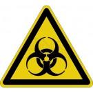 Warnzeichen - Warnung vor Biogefährdung