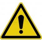 Warnzeichen - Warnung vor einer Gefahrenstelle