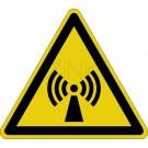 Warnzeichen - Warnung vor elektromagnetischem Feld
