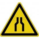 Warnzeichen - Warnung vor Engstelle