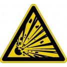 Warnzeichen - Warnung vor explosionsgefährlichen Stoffen