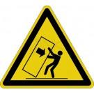 Warnzeichen - Warnung vor Kippgefahr