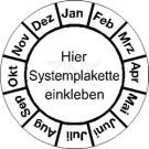Grundplaketten - Monate (1) (passend für Systemplaketten)