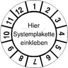 Grundplaketten - Monate (2) (passend für Systemplaketten)